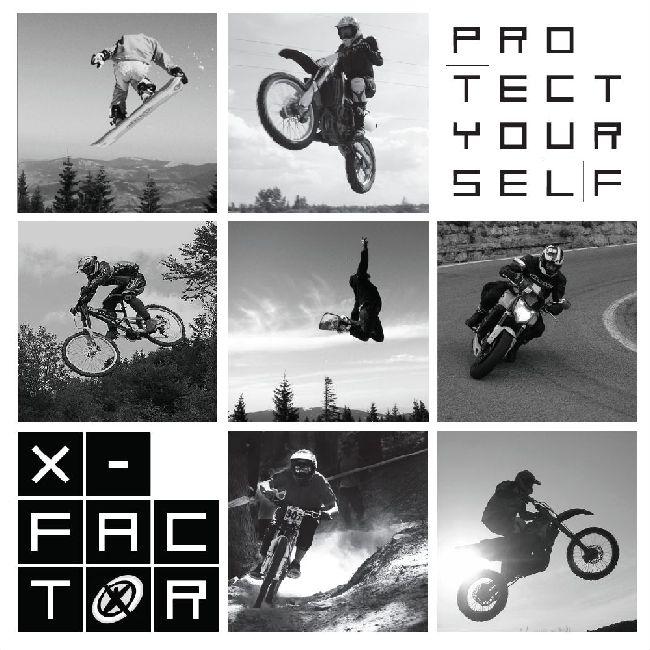 x-factor ochraniacze moto bike snow początek